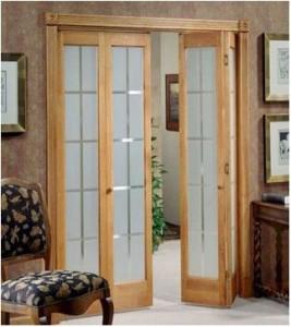 bedroom bifold french doors