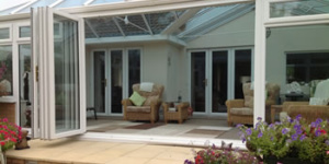 bi-fold doors look great